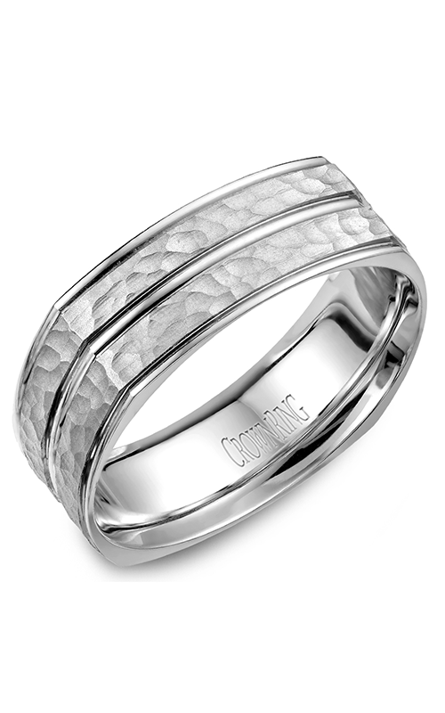 CrownRing Carved Wedding band WB-7911 product image