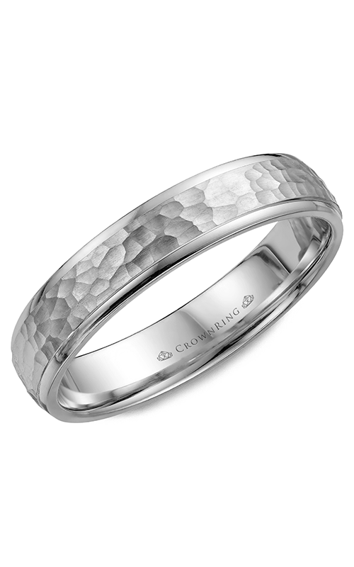 CrownRing Carved Wedding band WB-7930 product image
