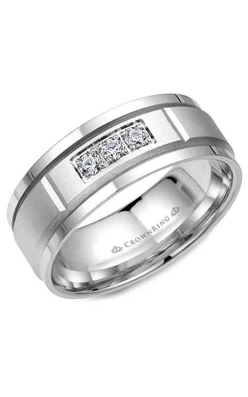 CrownRing Diamond Wedding band WB-8200 product image
