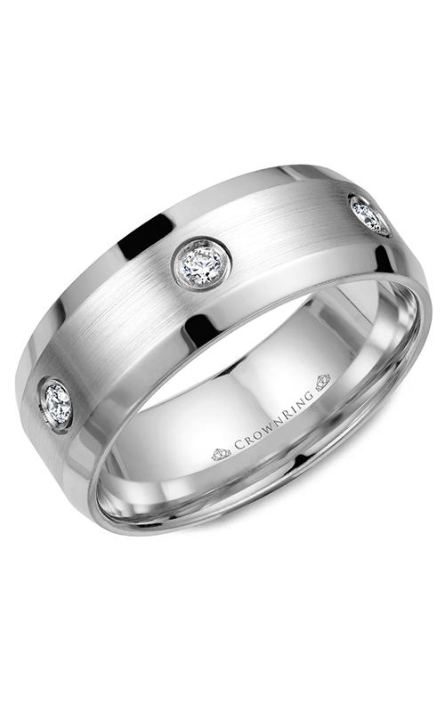 CrownRing Diamond Wedding band WB-9616 product image