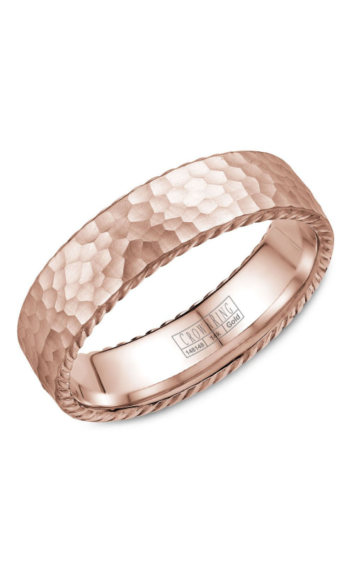 CrownRing Rope Wedding band WB-004R6R product image