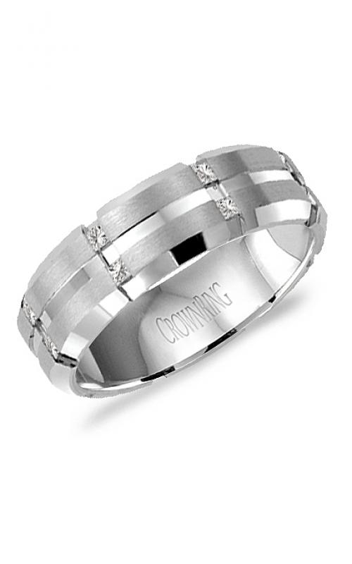 CrownRing Diamond Wedding band WB-7092 product image