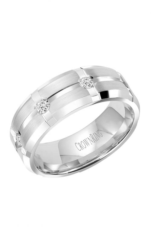 CrownRing Diamond Wedding band WB-7276 product image