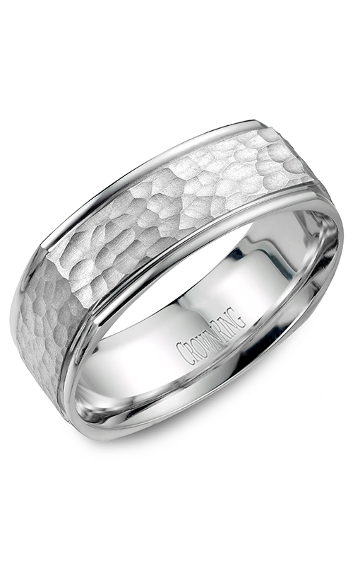 Crown Ring Men's Wedding Band WB-7908 product image