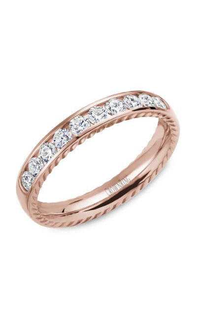 Crown Ring Men's Wedding Band WB-017RD35R product image
