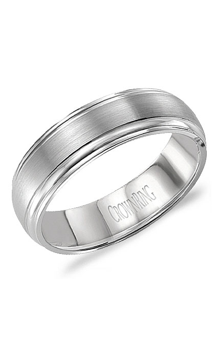 Crown Ring Men's Wedding Band WB-9903 product image