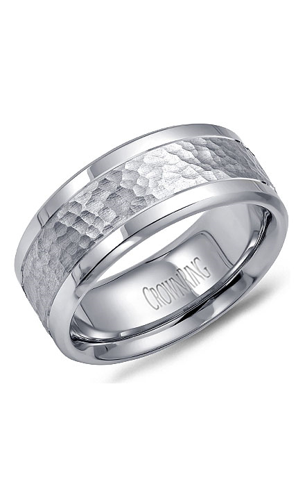 Crown Ring Men's Wedding Band WB-9622 product image