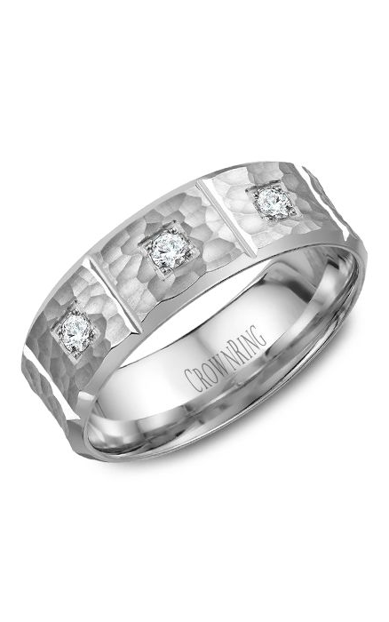 Crown Ring Men's Wedding Band WB-7968 product image