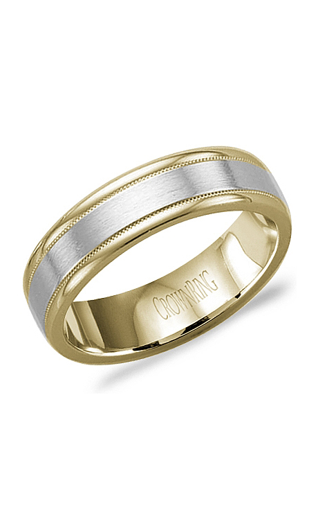 CrownRing Men's Wedding Band WB-9529 product image
