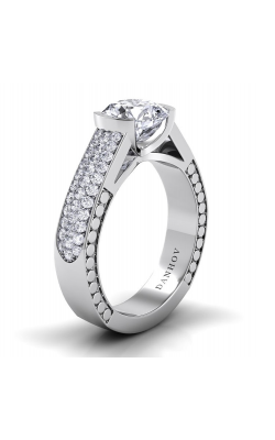 Danhov Tubetto Engagement Ring TE114 product image