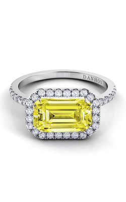 Danhov Pop Of Color Fashion ring LE105-EMEW-YD product image