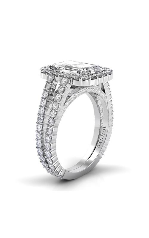 Danhov Carezza Engagement Ring XE109-EM product image