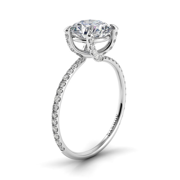 Danhov Eleganza Collection Engagement ring ZE102 product image