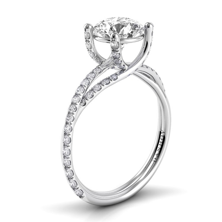 Danhov Eleganza Collection Engagement ring ZE101 product image