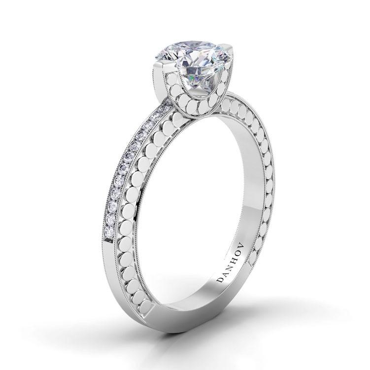 Danhov Tubetto Engagement ring TE126 product image