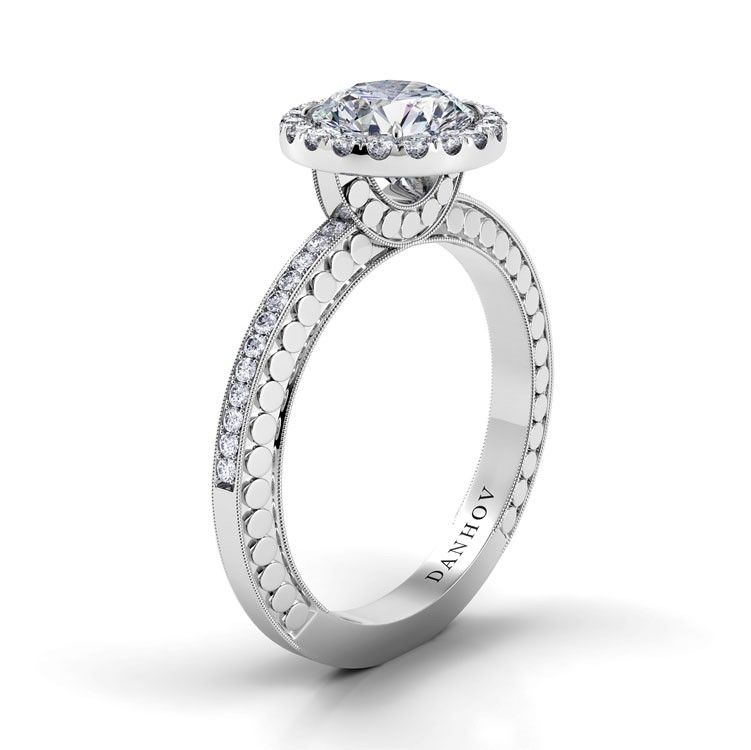 Danhov Tubetto Collection Engagement ring TE125 product image