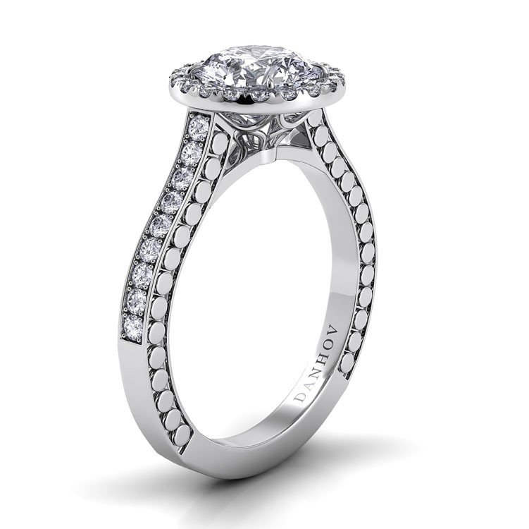 Danhov Tubetto Collection Engagement ring TE124 product image