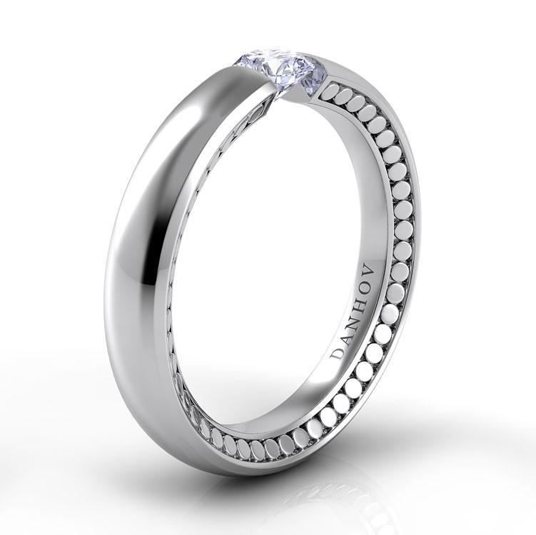 Danhov Voltaggio Engagement ring V150 product image
