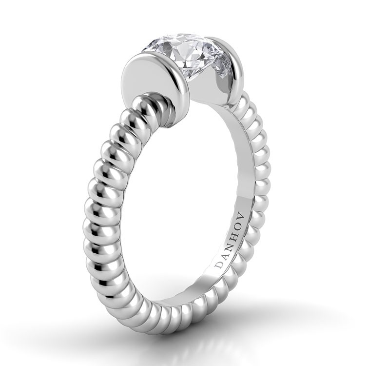 Danhov Voltaggio Collection Engagement ring V141 product image