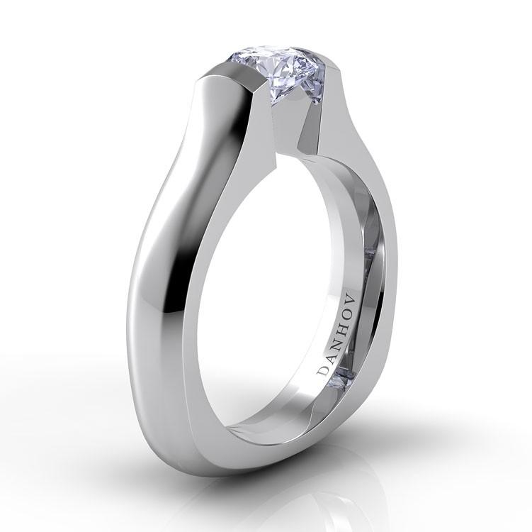Danhov Voltaggio Engagement ring V129 product image