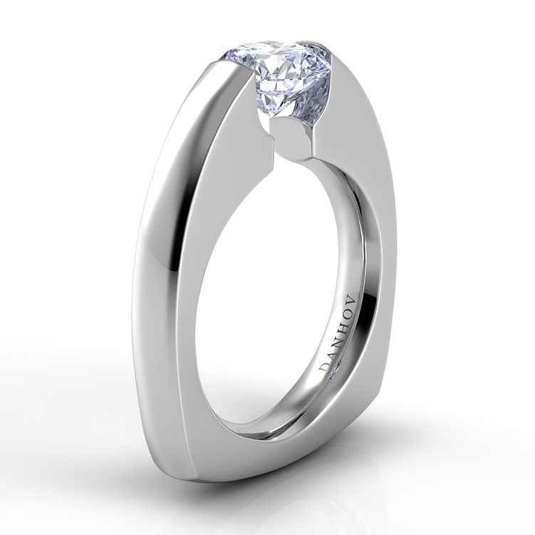 Danhov Voltaggio Collection Engagement ring V127 product image