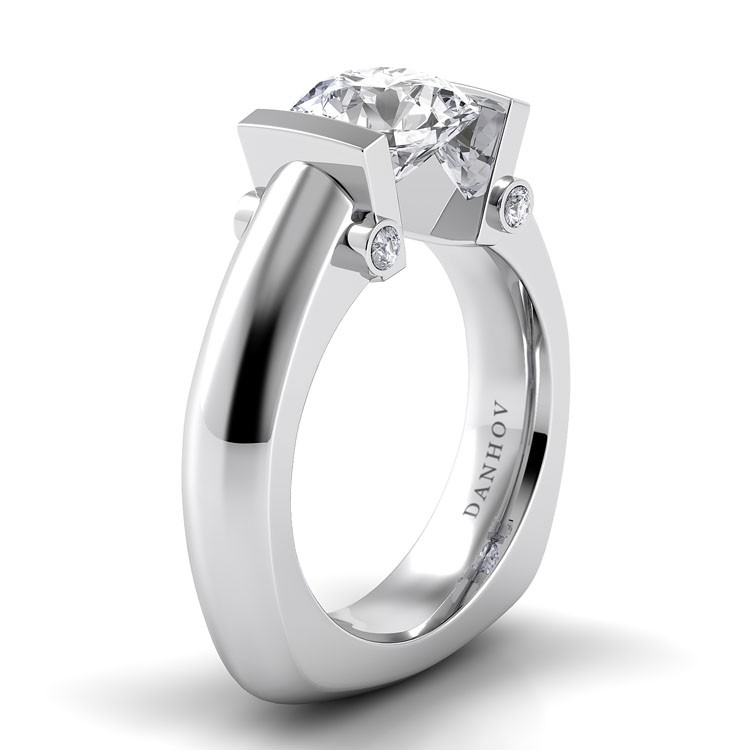 Danhov Voltaggio Collection Engagement ring V126 product image