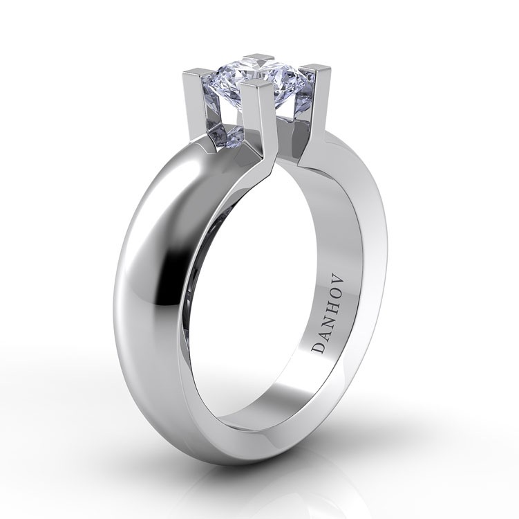 Danhov Voltaggio Engagement ring V120 product image