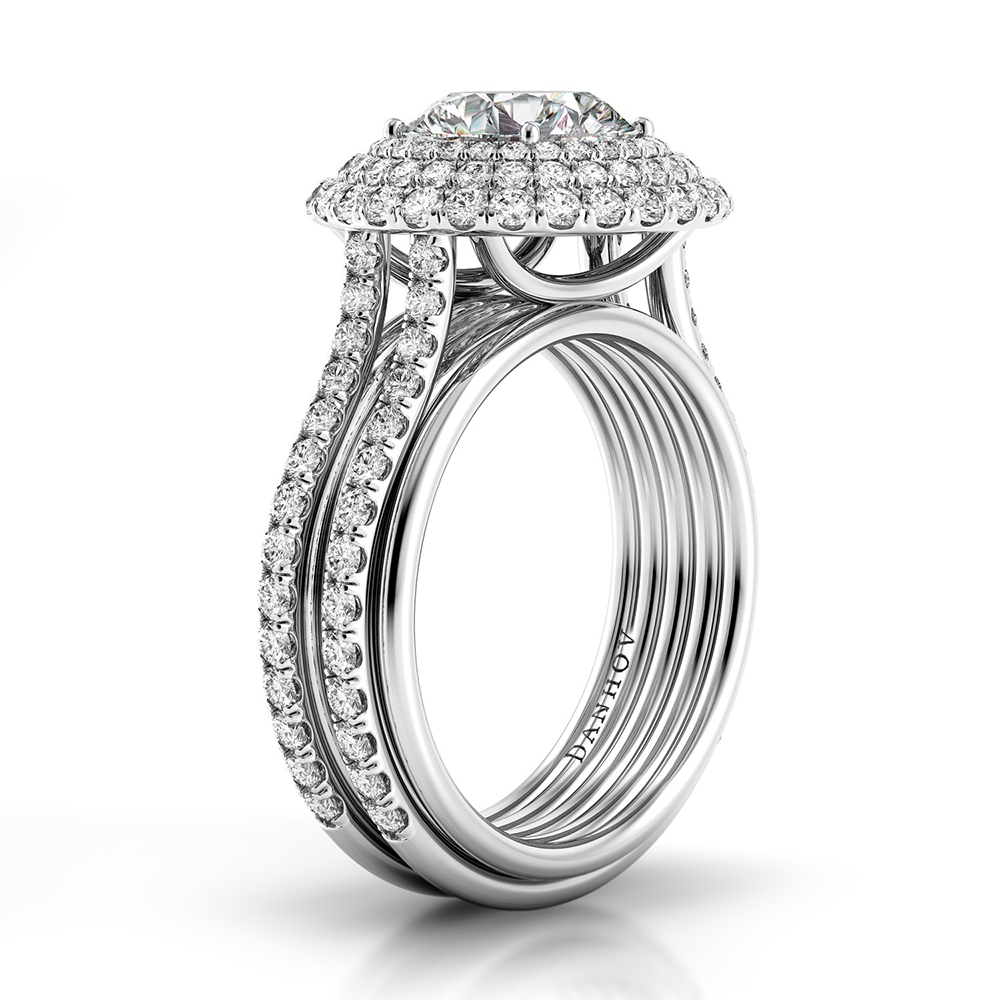 Danhov Couture Engagement ring CE162 product image