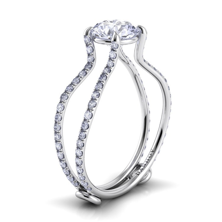 Danhov Solo Filo Engagement ring SE109 product image