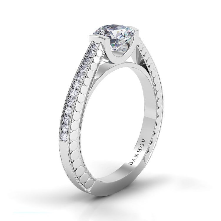 Danhov Tubetto Engagement ring TE120 product image