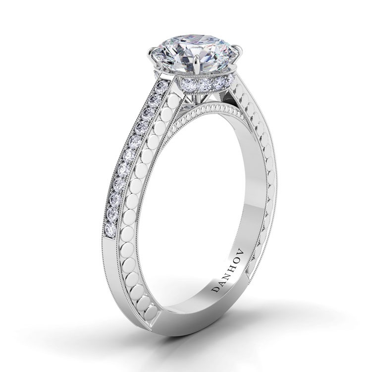 Danhov Tubetto Collection Engagement ring TE130 product image