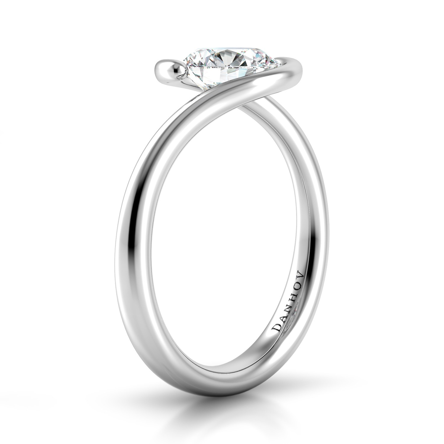 Danhov Voltaggio Collection Engagement ring V137 product image