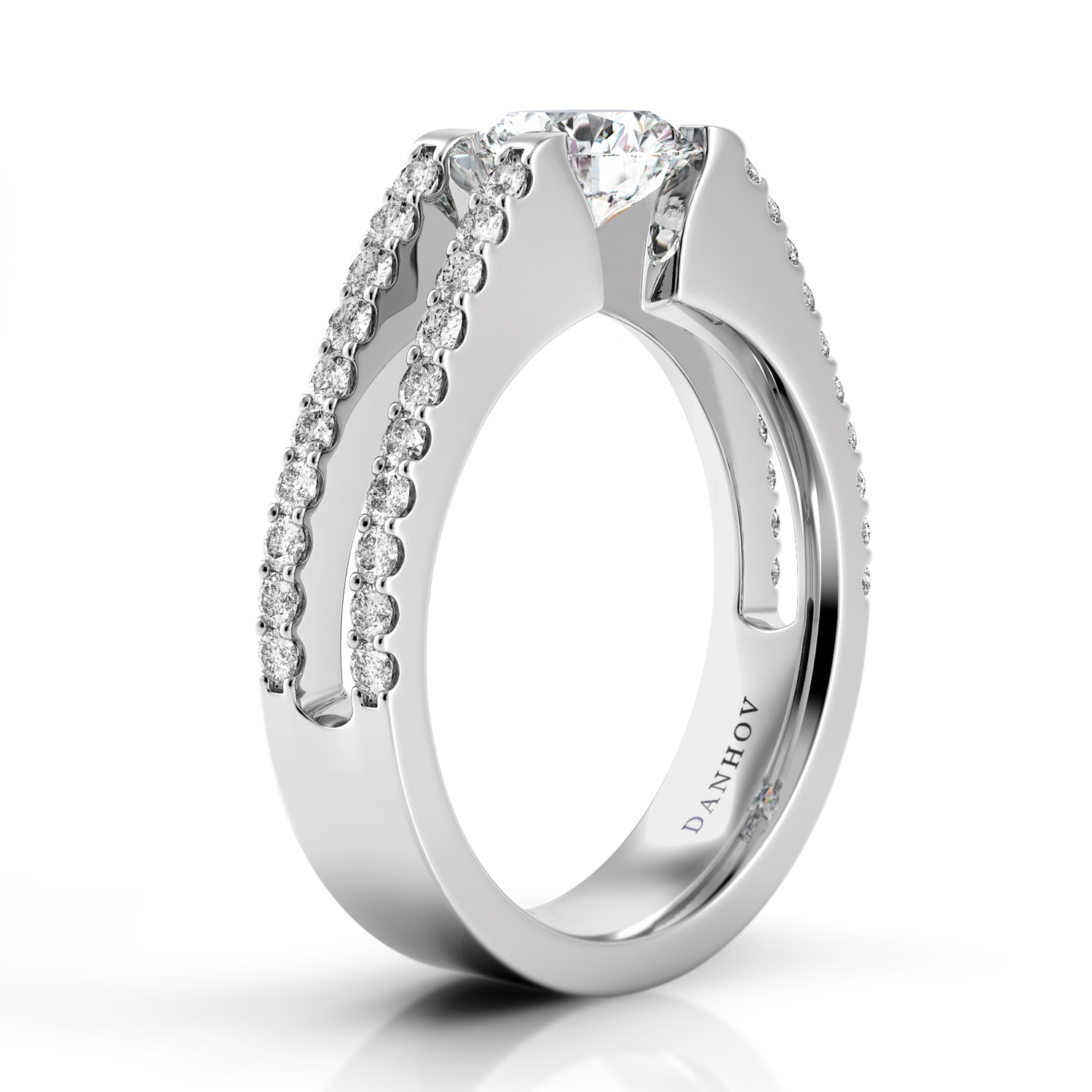 Danhov Voltaggio Collection Engagement ring V149 product image
