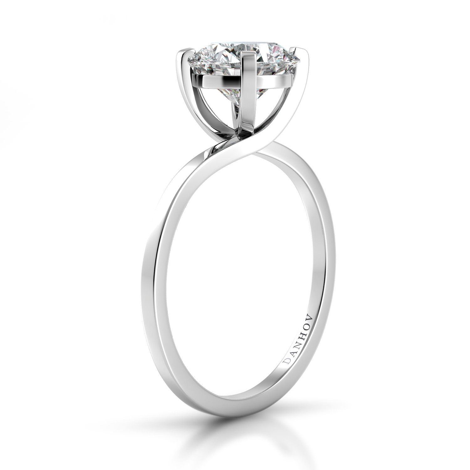 Danhov Eleganza Collection Engagement ring ZE137 product image