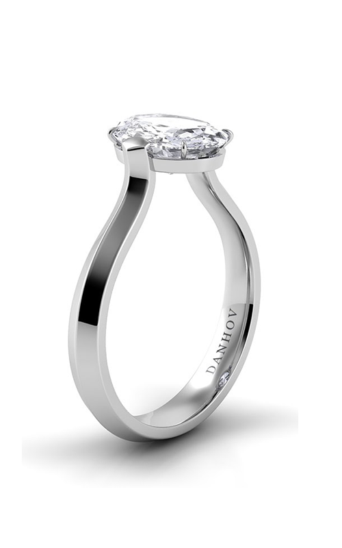 Danhov Classico Collection Engagement ring CL123-OV product image
