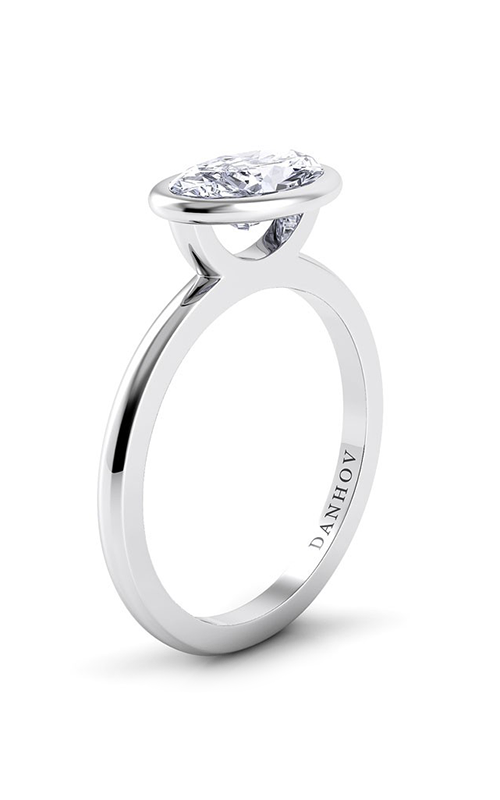 Danhov Per Lei Engagement Ring  LE100-OVEW product image