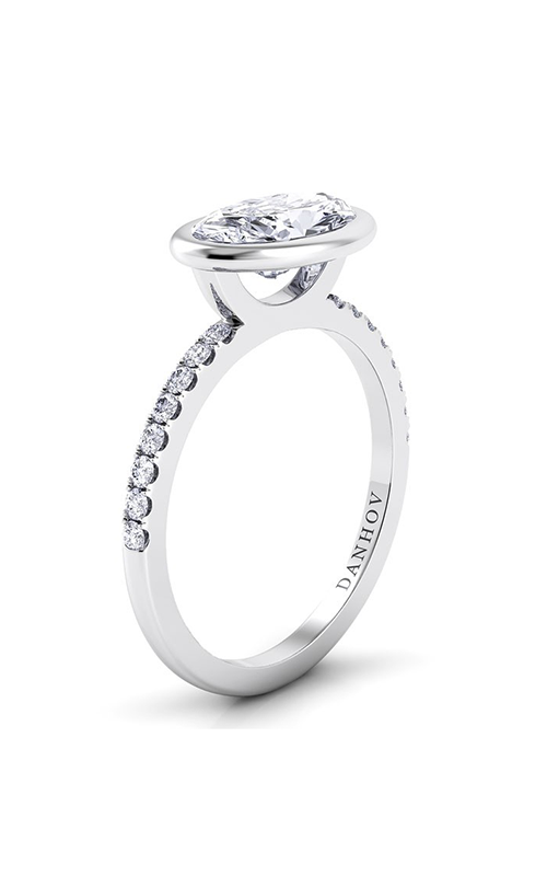 Danhov Per Lei Collection Engagement ring LE103-OVEW product image