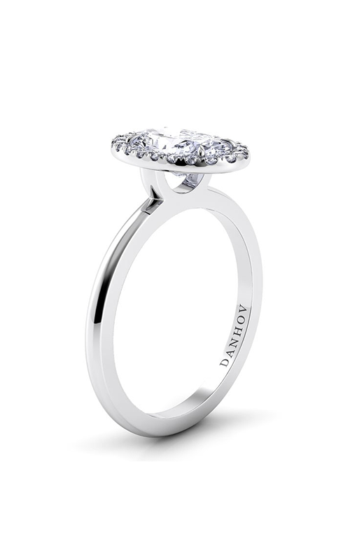 Danhov Per Lei Collection Engagement ring LE104-OV product image