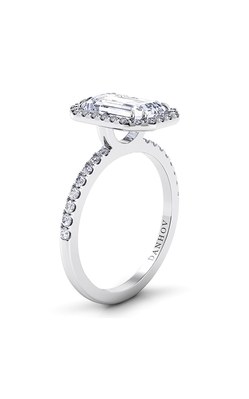 Danhov Per Lei Collection Engagement ring LE105-EM product image