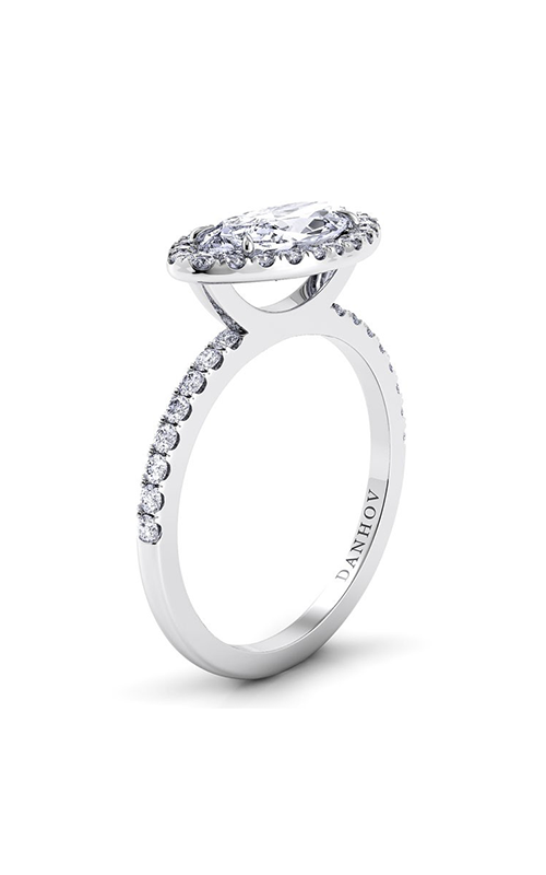 Danhov Per Lei Collection Engagement ring LE105-MQEW product image