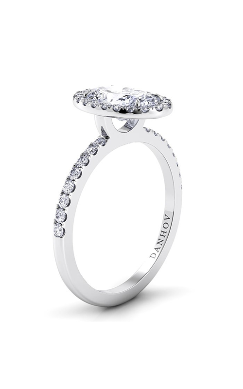 Danhov Per Lei Collection Engagement ring LE105-OV product image
