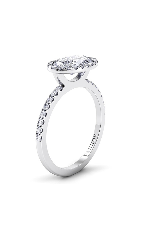 Danhov Per Lei Collection Engagement ring LE105-OVEW product image