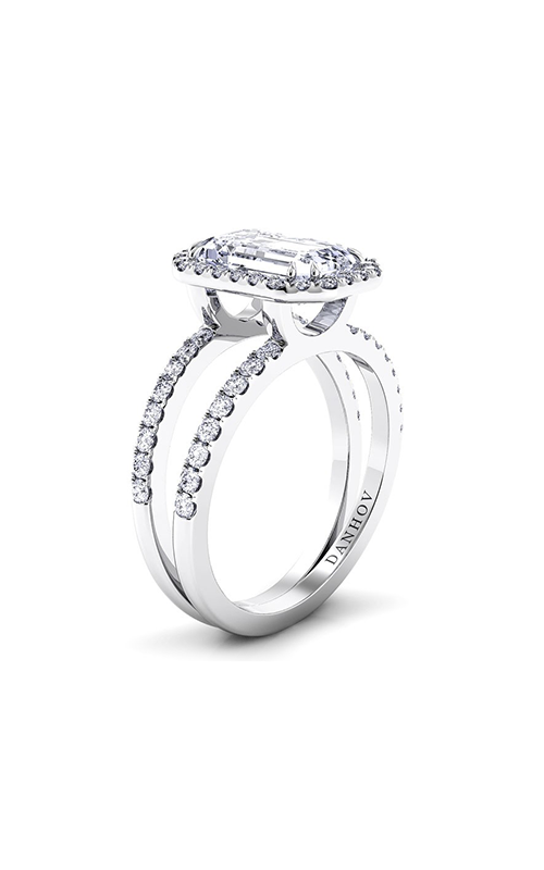 Danhov Per Lei Collection Engagement ring LE106-EM product image