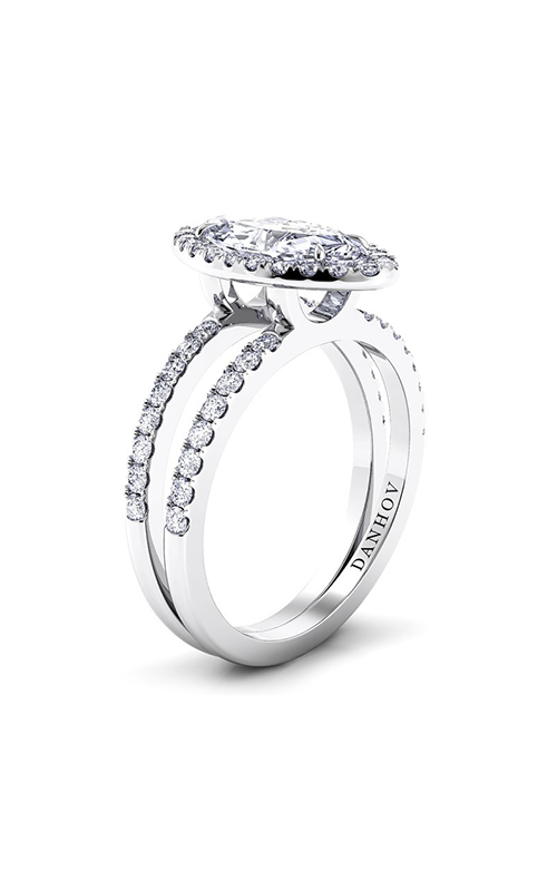 Danhov Per Lei Collection Engagement ring LE106-MQ product image