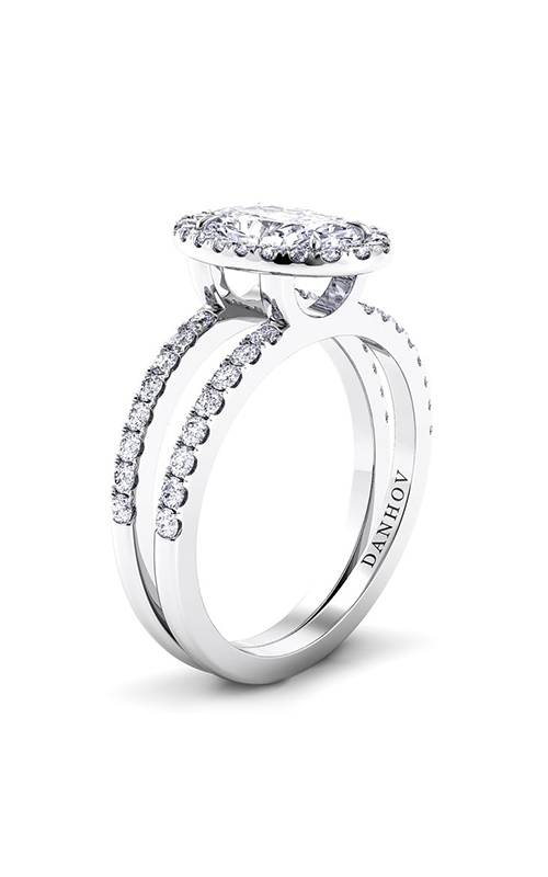 Danhov Per Lei Collection Engagement ring LE106-OV product image