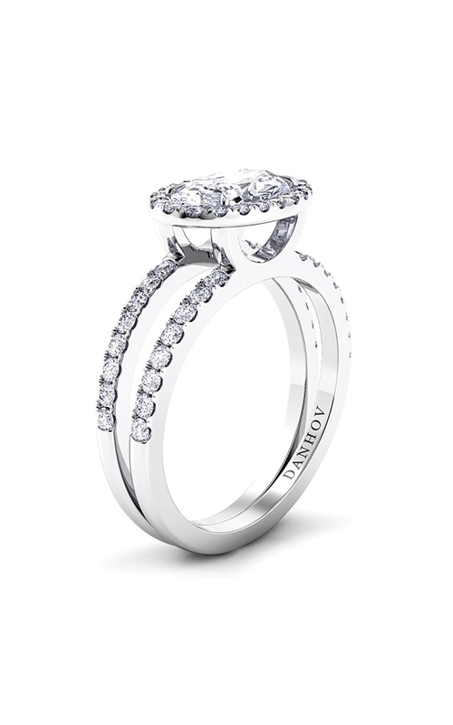 Danhov Per Lei Collection Engagement ring LE106-OVEW product image