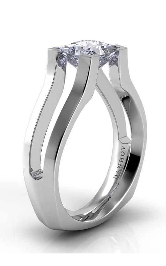 Danhov Voltaggio Collection Engagement ring V116-PR product image