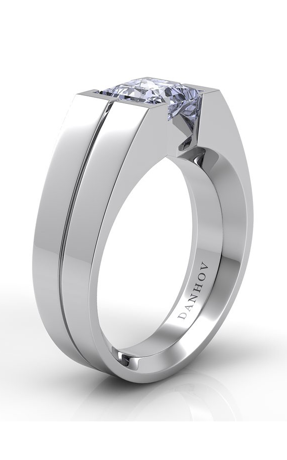 Danhov Voltaggio Collection Engagement ring V130-PR product image