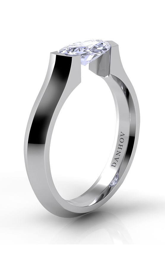 Danhov Voltaggio Collection Engagement ring V132-MQEW product image