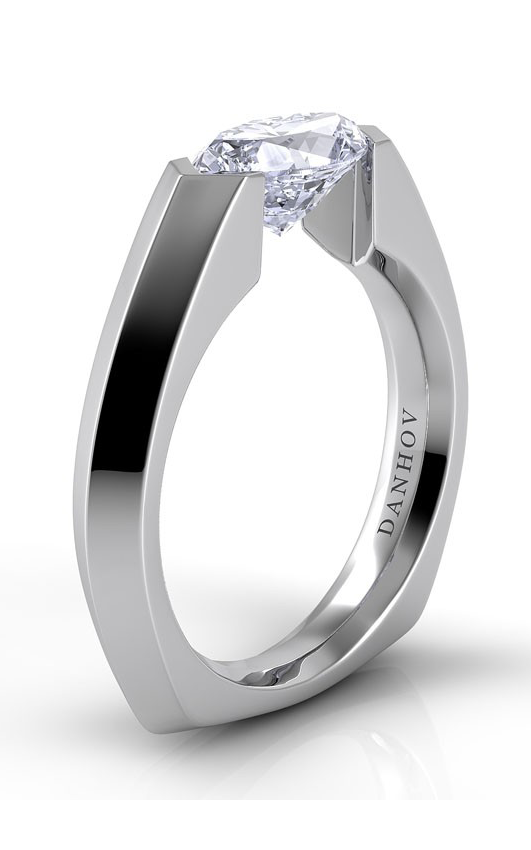 Danhov Voltaggio Collection Engagement ring V133-MQEW product image